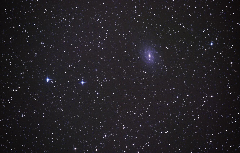 Фото обои космос, звезды, мироздание