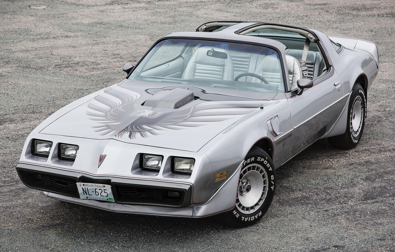 Фото обои Pontiac, Понтиак, передок, Firebird, Trans Am, 1979, 10th Anniversary, 6.6, Фаэрбёд, L80