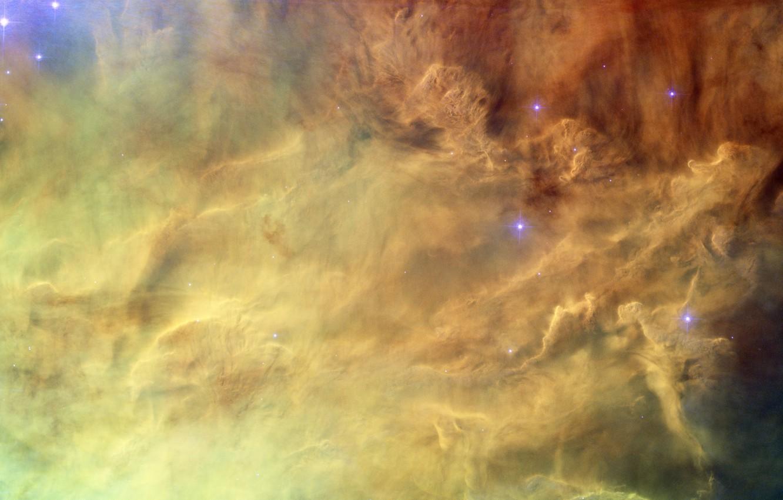 Фото обои космос, звёзды, туманность лагуна, созвездие Стрельца, NGC 6523