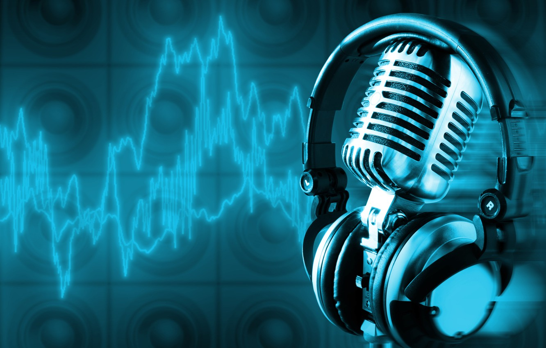 Обои микрофон, стиль, музыка. Музыка foto 11