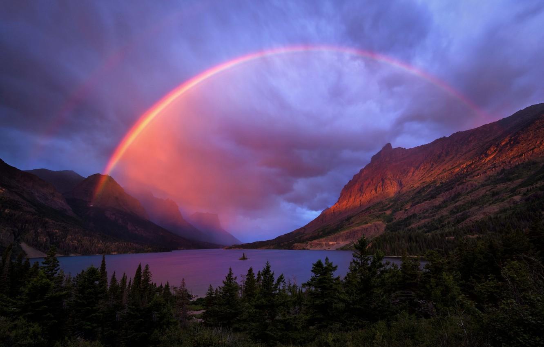 Красивые фото радуги на рабочий