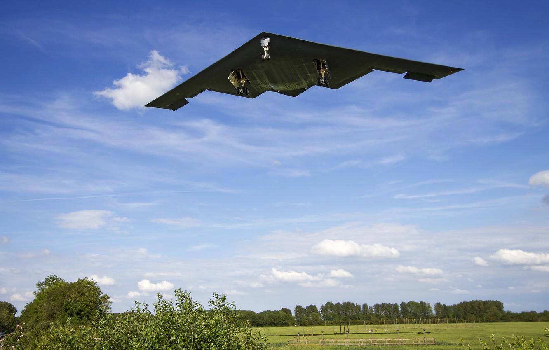Обои Northrop, b-2a spirit, стратегический, бомбардировщик. Авиация foto 13