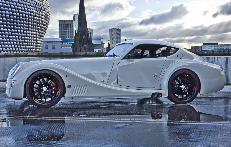 Фото обои Машина, Car, Автомобиль, Coupe, Aero, Morgan, Купе, Морган, Аэро