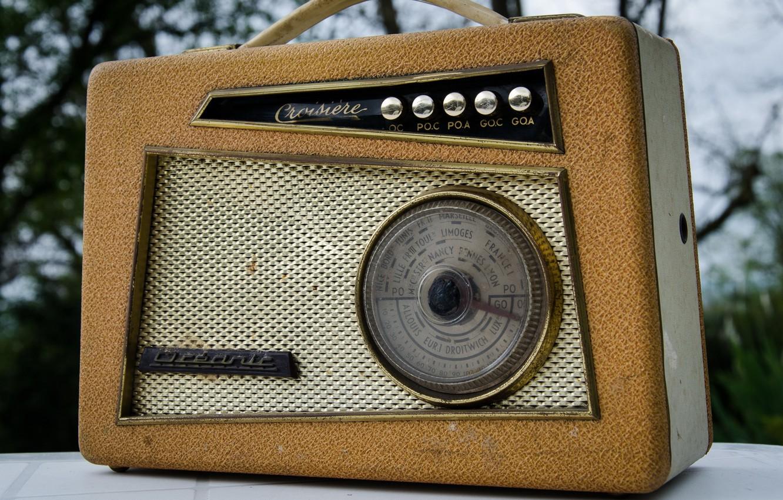 Фото обои фон, радио, приёмник
