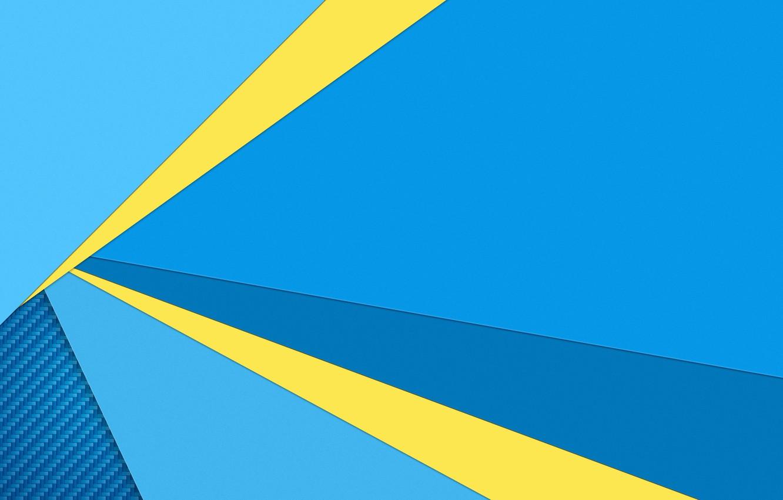 Обои Цвет, синий, желтый. Абстракции foto 11