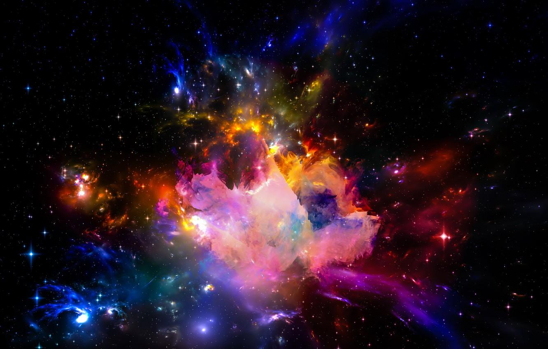 Обои space, universe, stars, background, вселенная. Абстракции foto 9