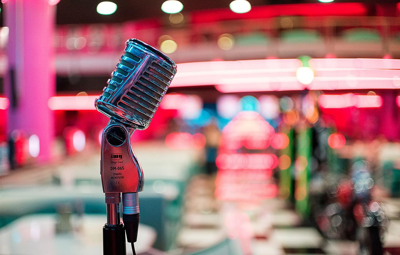 Обои микрофон, стиль, музыка. Музыка foto 9