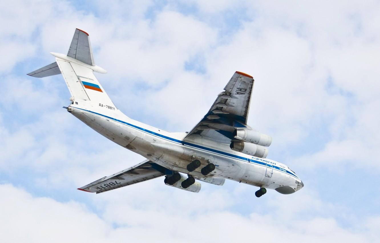 Обои Самолёт, Il-76, ВВС Украины, Ильюшин, Военно-транспортный. Авиация foto 7