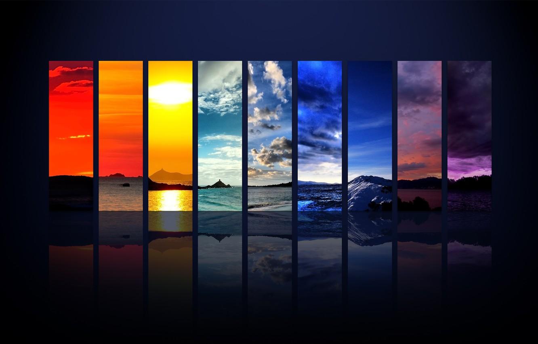 Фото обои полоски, природа, цвет