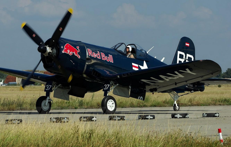 Обои Вторая мировая, F4u corsair, chance vought. Авиация foto 17