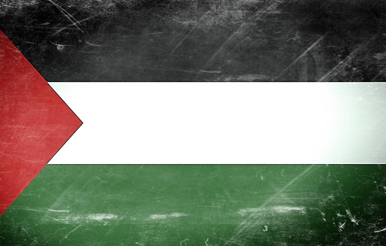 Фото обои flag, Texture, Palestine, Gaza