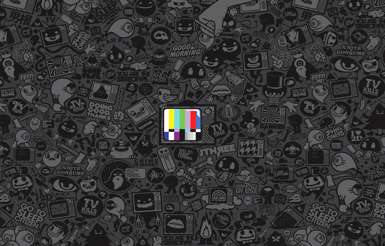Фото обои art, media, Jared Nickerson, TV, propaganda