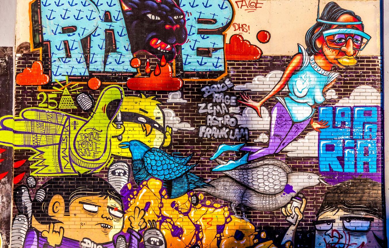 Обои графити. Текстуры foto 7