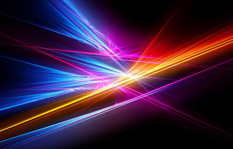Обои лучи, свет, Цвет. Абстракции foto 11