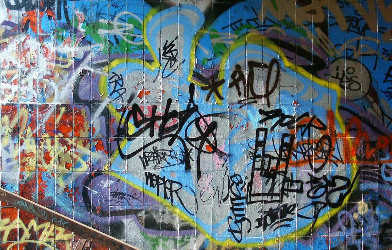 Обои фон, stena, graffiti. Разное foto 11
