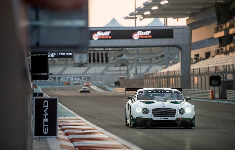 Фото обои Bentley, Continental, GT3, 2014