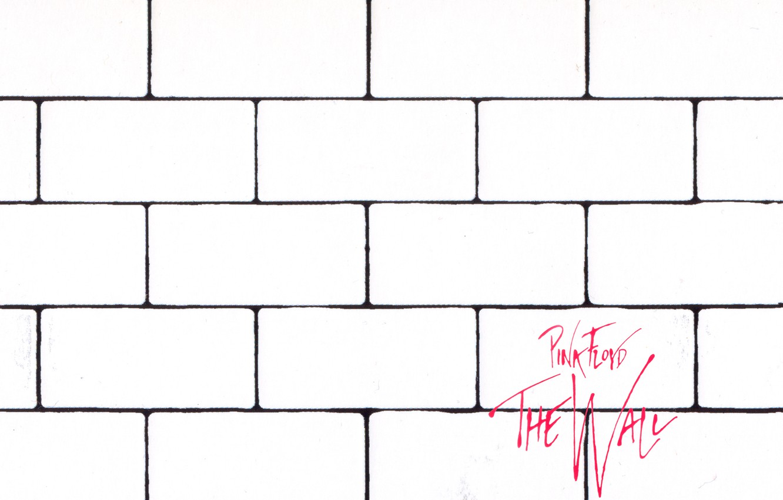Фото обои pink floyd, cover, the wall