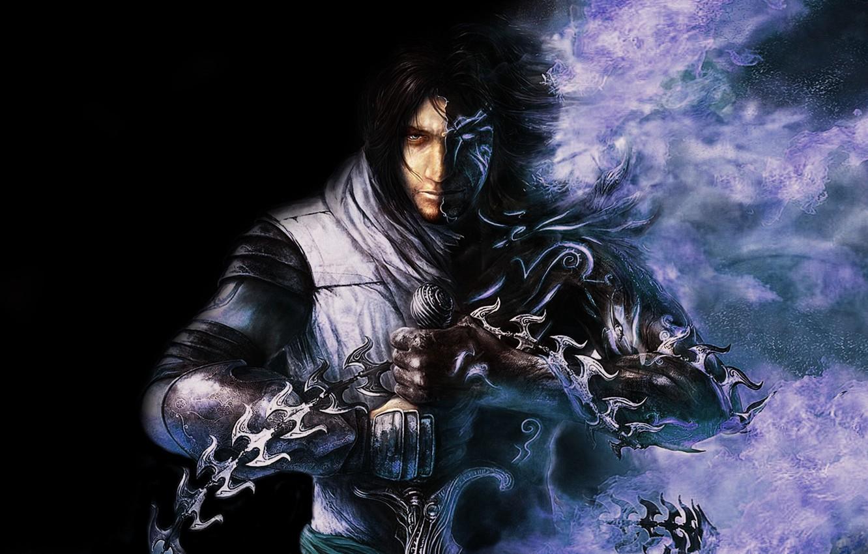 Фото обои темный принц, Ubisoft, Принц Персии, Prince of Persia:The Two Thrones
