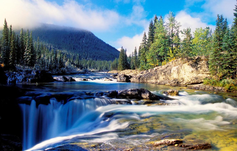 Обои красиво, водопад, Вода. Природа foto 16