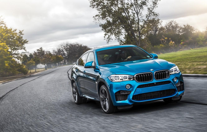 Фото обои бмв, BMW, кроссовер, X6 M, F86