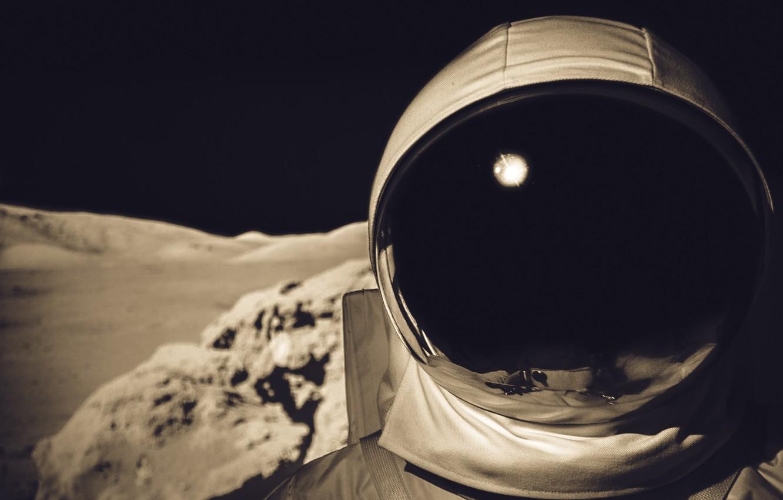 Фото обои скафандр, костюм, астронавт