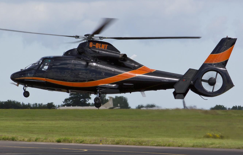Обои Eurocopter, многоцелевой, as 365 n2, dauphin 2. Авиация foto 11
