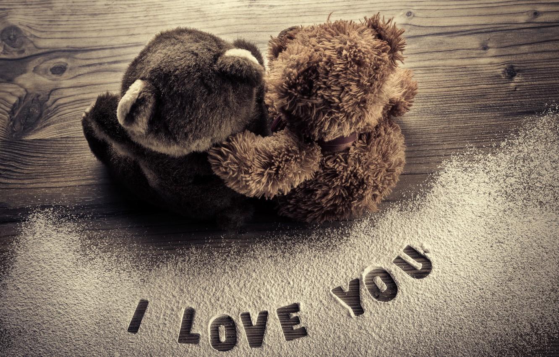 Фото обои любовь, мишка, love, toy, bear, heart, romantic, sweet, Teddy