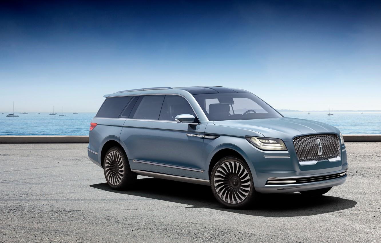 Фото обои Lincoln, Concept, концепт, линкольн, навигатор, Navigator