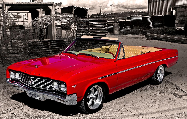 Фото обои ретро, Бьюик, классика, 1965, Buick, Skylark
