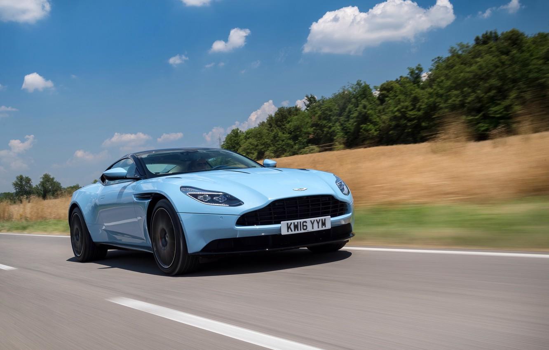 Фото обои car, Aston Martin, road, auto, wallpapers, speed, DB11