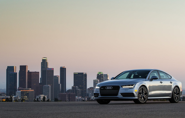 Фото обои Audi, ауди, quattro, Sportback, S-Line, TFSI, US-spec, 2015