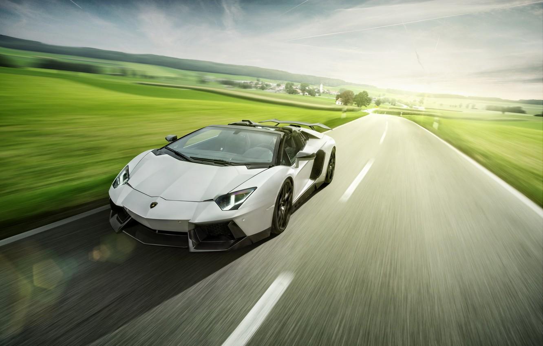 Фото обои Roadster, Lamborghini, LP700-4, Aventador, LB834, Novitec Torado