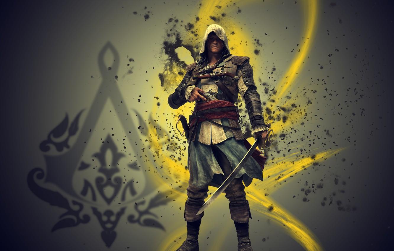 Обои assassins creed iv, black flag, эдвард кенуэй, пират ... | 850x1332