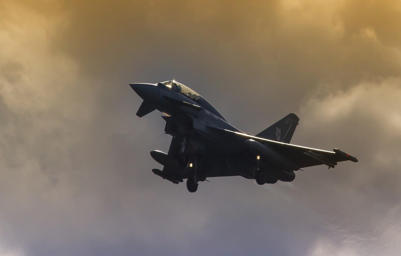 Обои самолеты, Eurofighter typhoon. Авиация foto 14