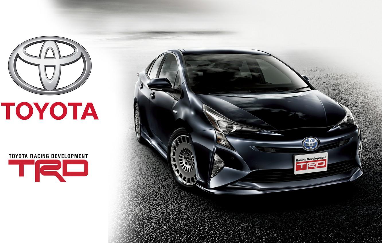 Фото обои Toyota, тойота, TRD, Prius, приус