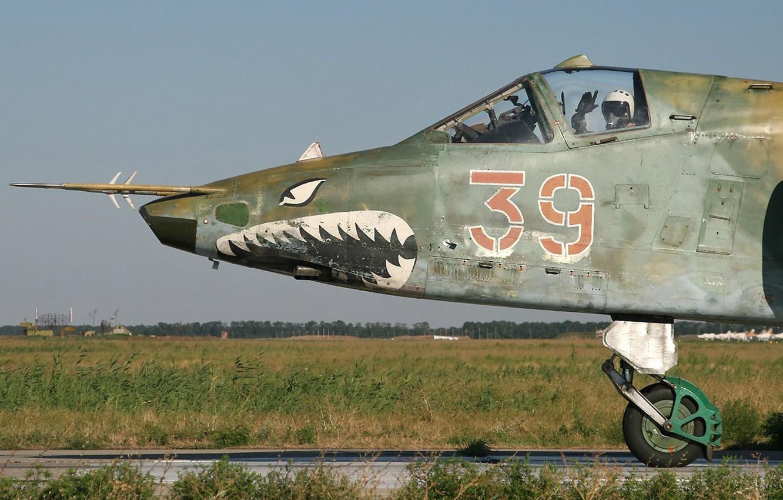 Обои ввс россии, su-25, штурмовик, Frogfoot. Авиация foto 14