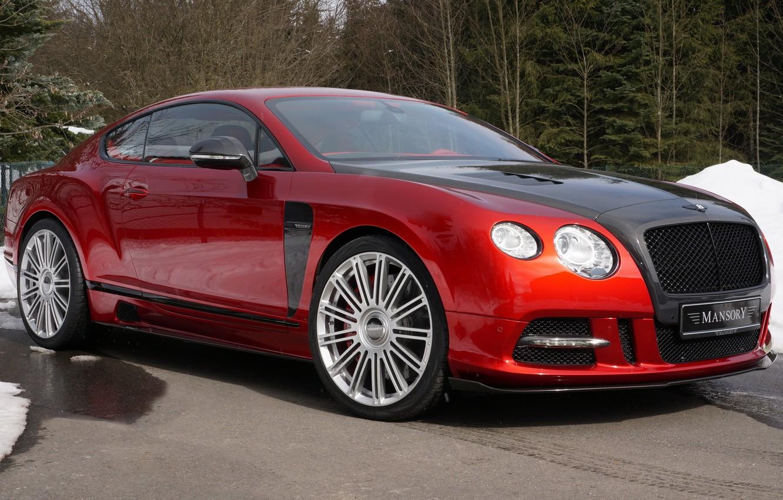 Фото обои Bentley, Continental, Mansory, Sanguis