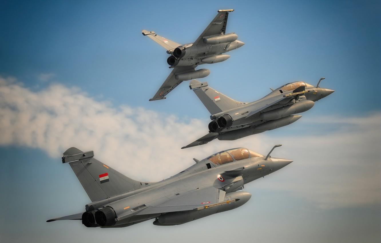 Обои «рафаль», истребитель, Rafale, многоцелевой. Авиация foto 6