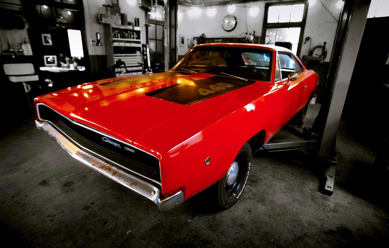 Фото обои car, dodge, muscle, charger