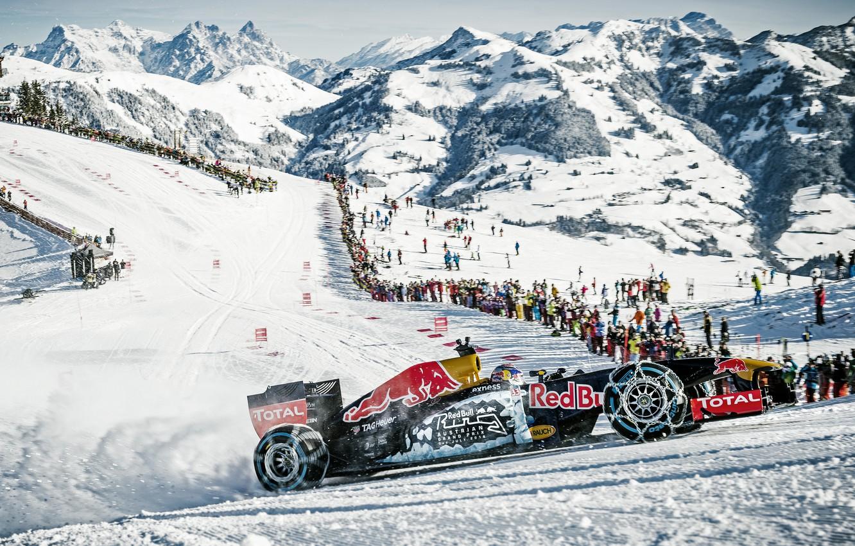 Фото обои формула 1, болид, Red Bull, RB11