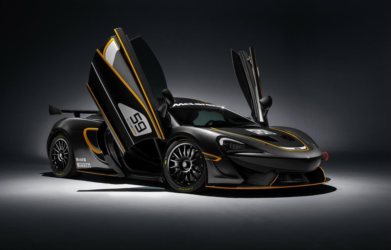 Фото обои фон, McLaren, суперкар, макларен, GT4, 570S