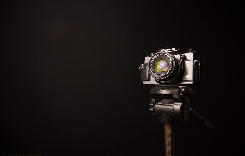 Фото обои фон, camera, olympus