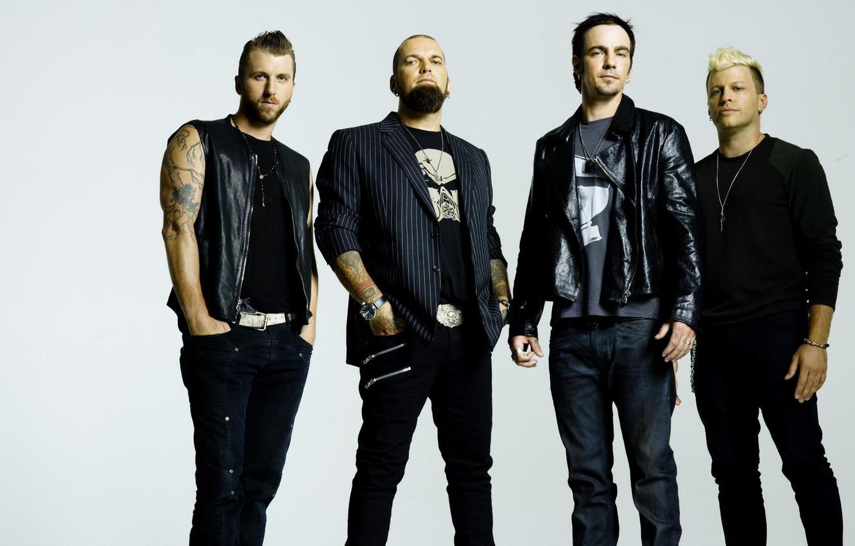 Фото обои музыка, рок, Three Days Grace, Adam Gontier, Barry Stock, Brad Walst, Neil Sanderson