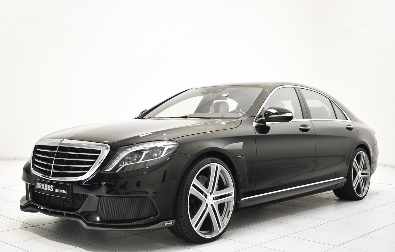 Фото обои Apple, Brabus, 850, iBusiness, Mercedes S63 AMG
