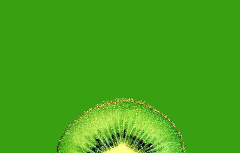 Фото обои киви, фрукт, в разрезе