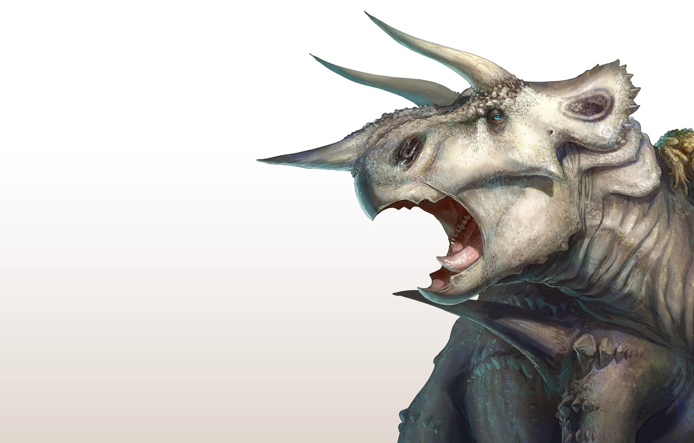 Фото обои динозавр, арт, покемон, pokemon