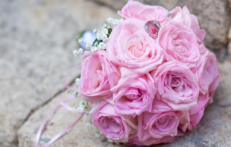 картинки букеты нежно розовые строят пенные
