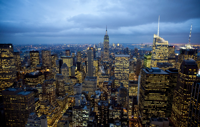 Обои new york city, new york, центр нью йорка, new york. Города foto 15