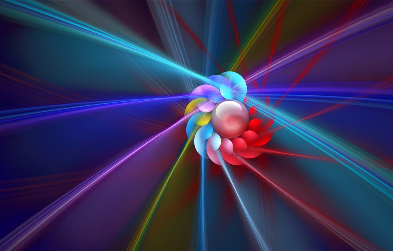 Обои трасса, лучи, спираль, свет, Цвет. Абстракции foto 16
