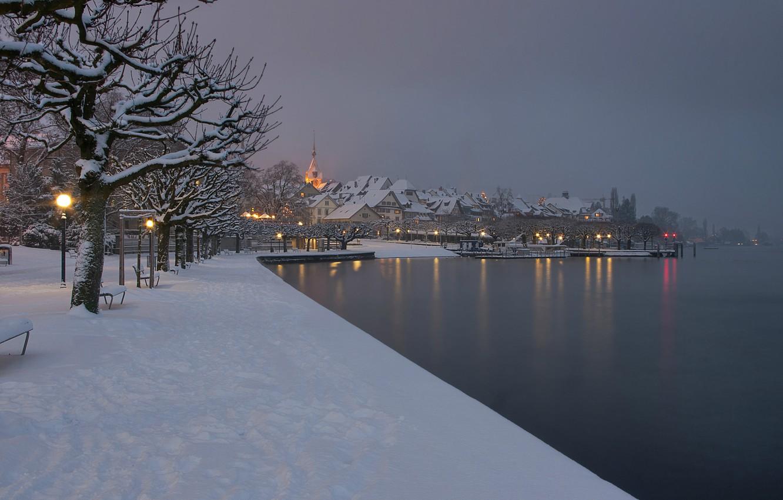 красивые картинки зима снег город чем